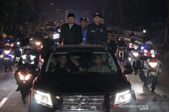 Malam takbir, Bima Arya sidak Pospam keliling Bogor