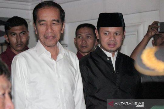 Jokowi shalat Ied di Istiqlal, Bima Arya di Kebun Raya