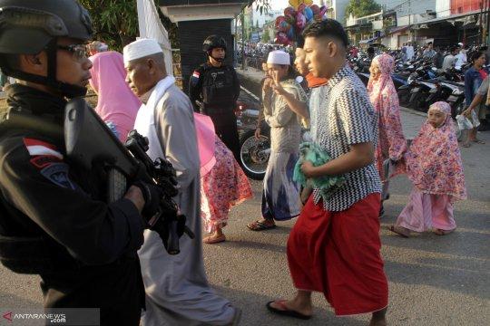 Perayaan Idul Fitri di NTT berjalan kondusif