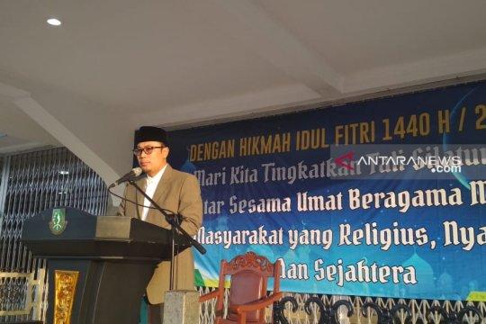 Wali Kota: Idul Fitri momen lupakan perbedaan pilihan pada Pilpres