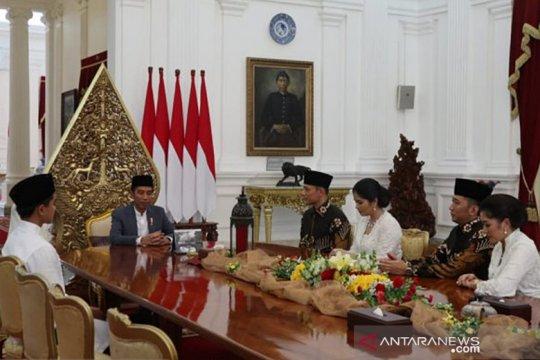 AHY dan Ibas ke Istana Merdeka, silaturahmi dengan Presiden Jokowi