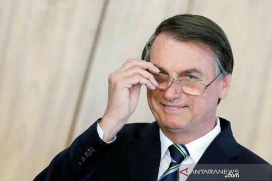 Terinfeksi COVID-19, kondisi Presiden Brazil Bolsonaro membaik