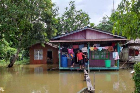 Banjir susulan rendam belasan rumah di Kapuas Hulu