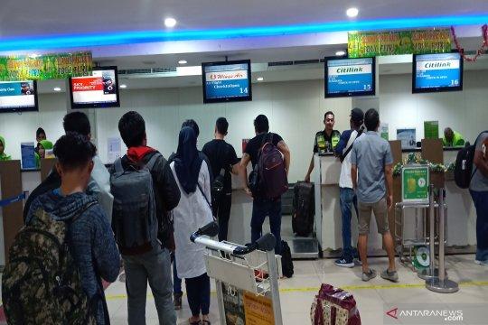 5.093 pemudik Bandara Syamsudin Noor berangkat di hari Lebaran