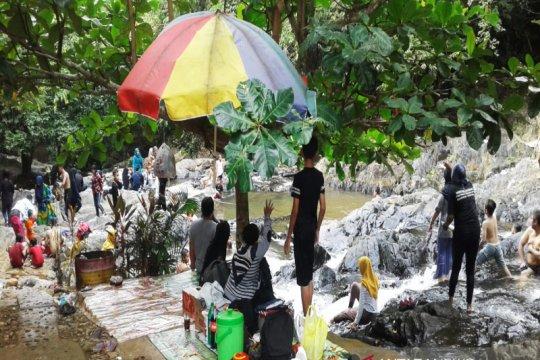 H+1 Lebaran Obyek Wisata Sungai Kembang ramai pengunjung