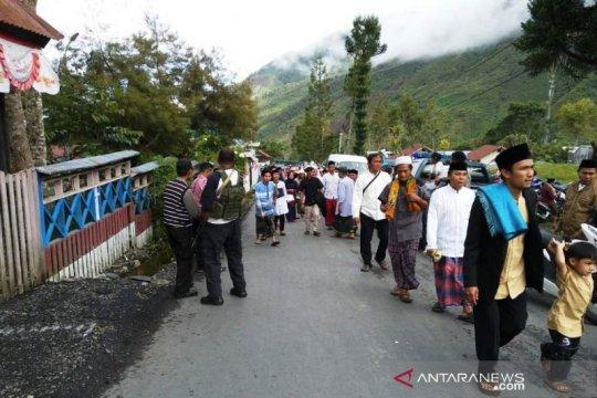 Kapolres : shalat Id di Puncak Jaya berlangsung aman