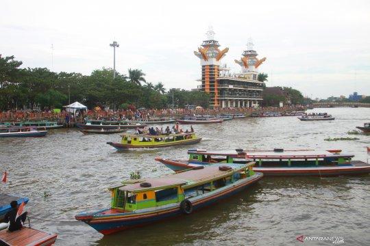 Sungai Martapura mulai terkena intrusi air laut