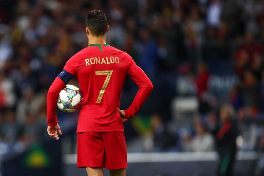 Ronaldo akhiri puasa gol timnas selama 349 hari