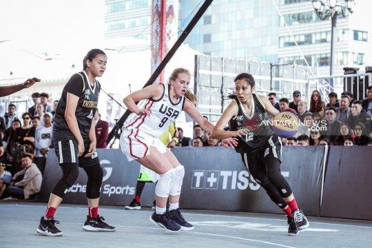 Tim putri Indonesia tempati peringkat enam pada Piala Dunia 3x3 U-18