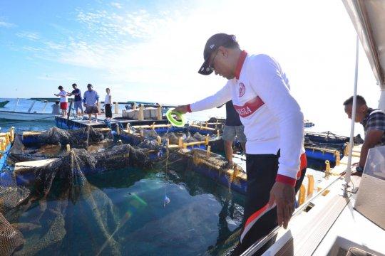 Gubernur Sulsel bahas rehabilitasi Pulau Samalona