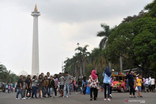 Perkiraan cuaca tempat wisata di Jakarta, Sabtu akhir pekan