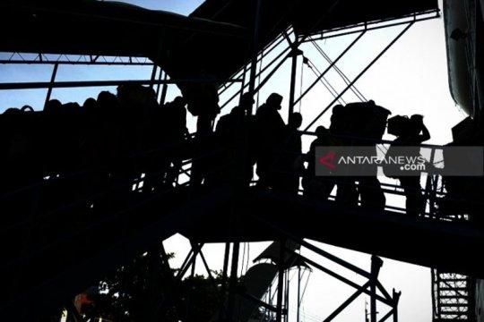 Arus mudik masih terjadi di Pelabuhan Sampit
