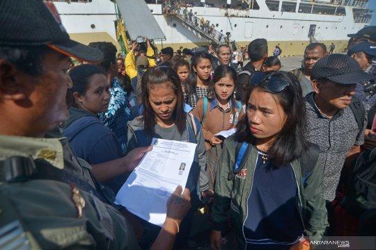 Pemeriksaan penduduk pendatang ke Bali