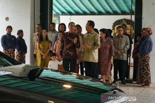 Kunjungan Presiden ke Keraton Yogyakarta