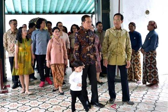 Presiden Jokowi silaturahim ke Keraton Yogyakarta