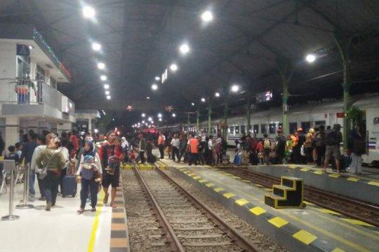 Puncak arus balik di Stasiun KA Purwokerto diprediksi 9 Juni