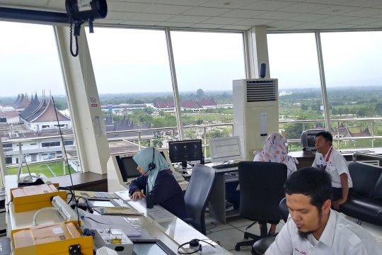 H+1 arus balik mulai meningkat di Bandara Minangkabau