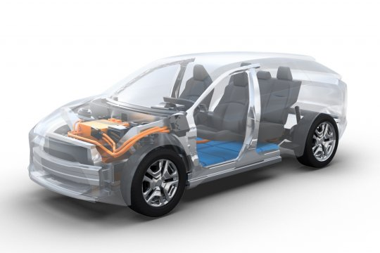 Subaru cuma jual mobil listrik pada 2030