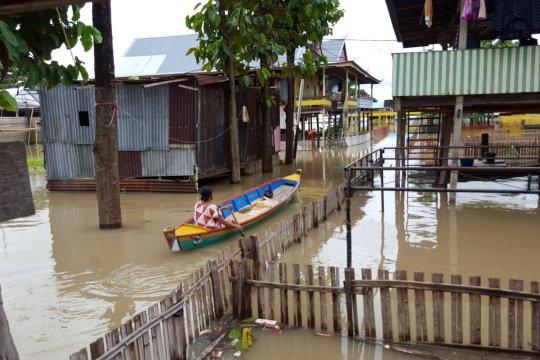 Tiga kecamatan di Wajo masih terendam banjir