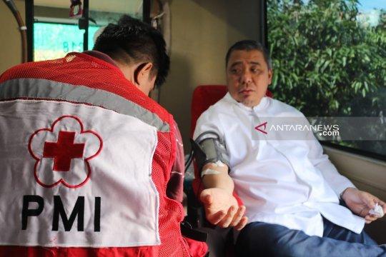 NasDem berhasil kumpulkan 37 kantong darah pada acara halal bi halal