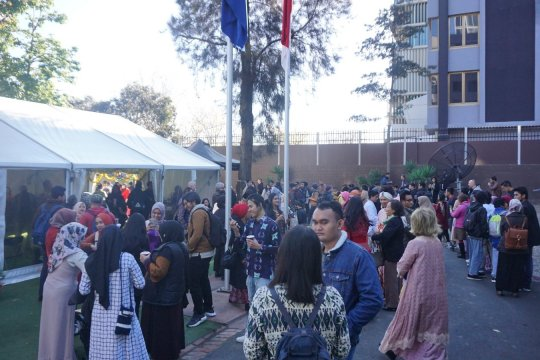 Ratusan warga Indonesia-Australia rayakan Idul Fitri di Melbourne