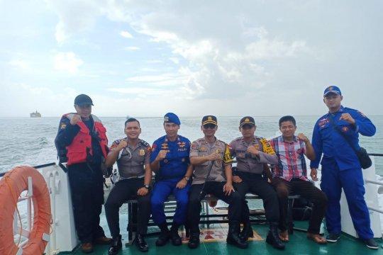 Kepolisian resor Bangka gelar patroli laut