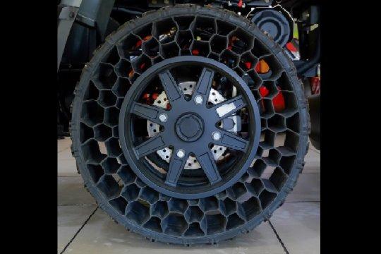 Michelin kembangkan ban tanpa udara, bakal diuji Chevrolet Bolt
