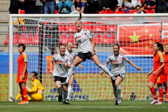 Gwinn bawa kemenangan 1-0 Jerman atas China
