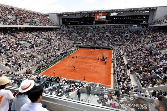 Roland Garros batasi 5.000 penonton per hari di edisi 2020