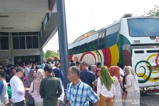 NPM berangkatkan 10 bus per hari pada arus balik