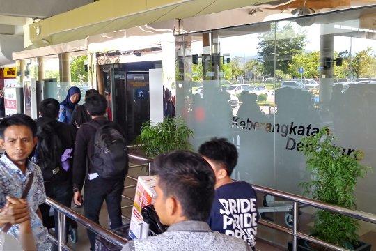Puncak arus balik di Bandara Minangkabau diperkirakan hari ini