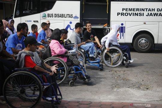 Bus mudik penyandang disabiliitas