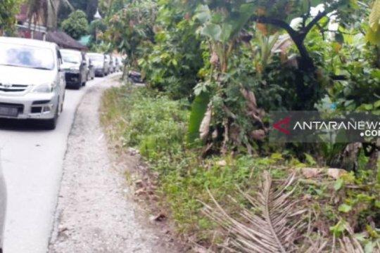 Ruas jalan lintas tengah Sumatera ruas Tapsel ramai lancar
