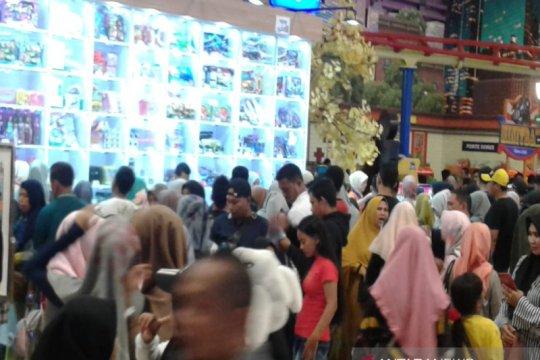 Libur Lebaran, Trans Studio Mini Banjarmasin ramai pengunjung