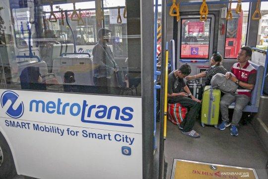 Transjakarta angkut 3,5 juta penumpang selama libur Lebaran
