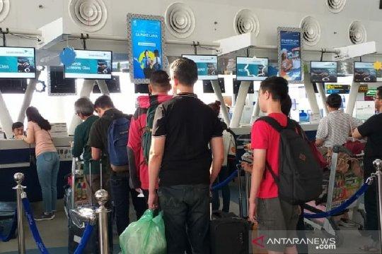Penumpang arus balik di Bandara Kualanamu belum ramai