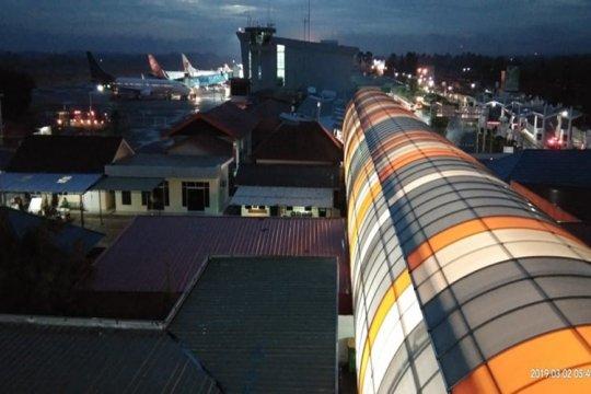 Jumlah penumpang di Bandara Radin Inten Lampung turun