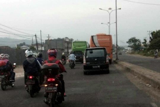 Arus balik pemudik tetap ramai melintasi Jalinsum Lampung