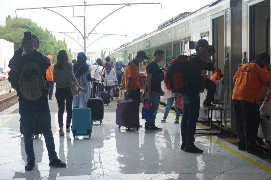 KAI Purwokerto berangkatkan 27.480 penumpang pada H+2 Lebaran