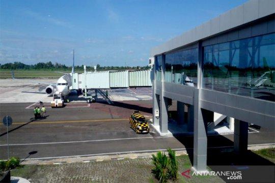Pergerakan pesawat di Bandara Tjilik Riwut menurun