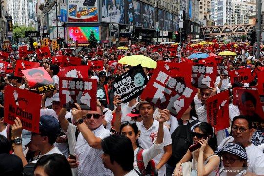 China tegaskan kembali dukungan Carrie Lam, Kepolisian Hong Kong