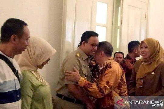 Anies Baswedan gelar halal bihalal dengan pegawai Pemprov DKI Jakarta