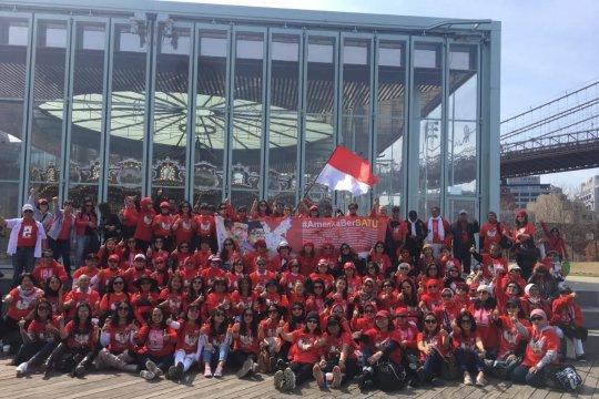 Relawan Jokowi-KH Ma'ruf Amin Amerika Bersatu bentuk kepengurusan