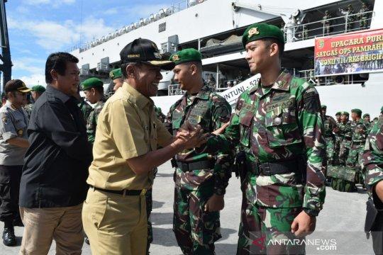 Satgas Pamrahwan 711/RKS kedepankan nilai keagamaan selama di Maluku