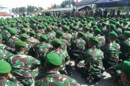 Pangdam XIII/Merdeka apresiasi kinerja Satgas Pamrahwan di Maluku