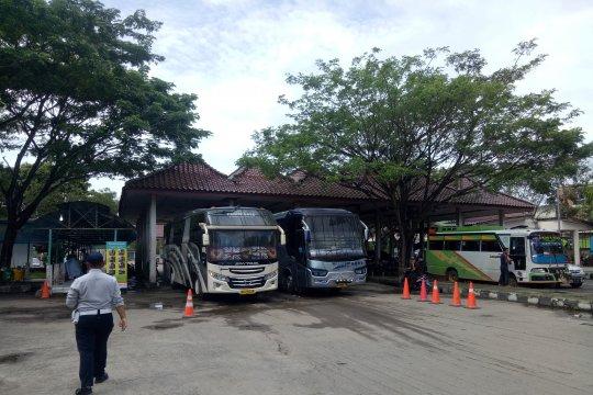 Prediksi puncak arus balik Lebaran 2019 di Terminal Palembang meleset
