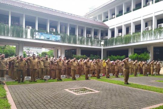 Walikota Medan pimpin apel hari pertama kerja pascalibur Lebaran