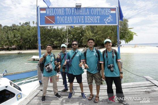 Wisata Kepulauan Togean sepi saat libur Lebaran