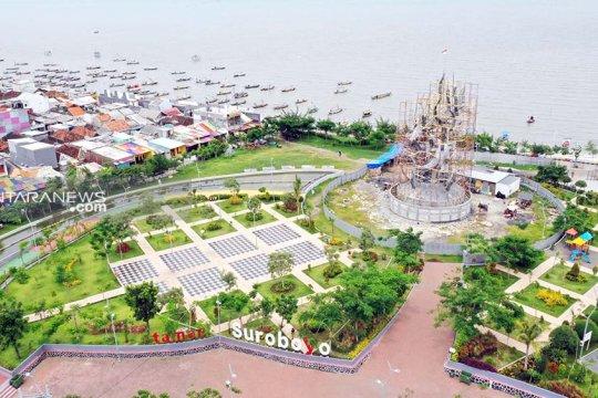 Pemkot Surabaya kembangkan kawasan Taman Suroboyo