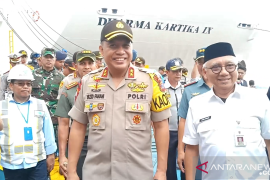Kapolda Kalsel: Pastikan keamanan barang bawaan penumpang